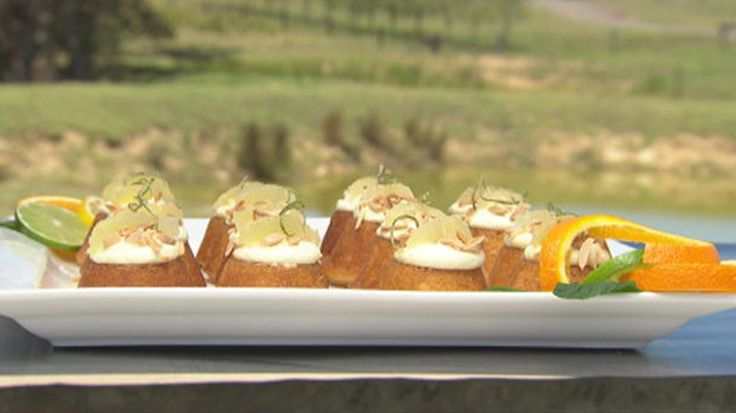 Spiced Orange Cakes with Citrus Syrup