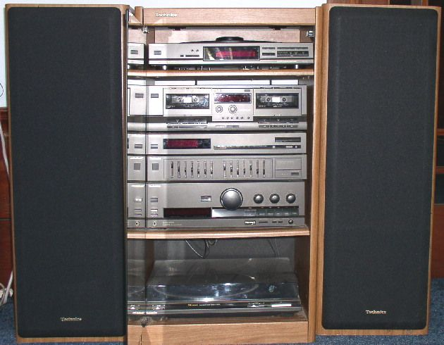 Technics Home Audio Shelf System with Turntable - Image 7751