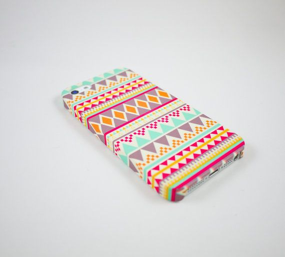 Aztec Geometric  iPhone 5 Case, iPhone 5 Cover, Hard iPhone 5 Case on Etsy, $18.00