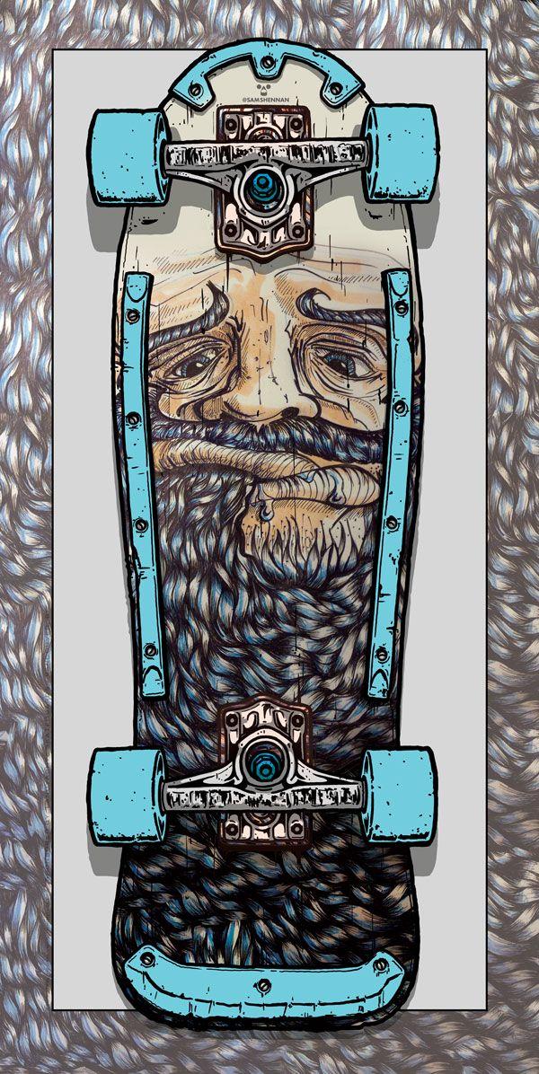 Beardeater Skateboard