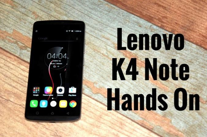 Today Lenovo launched their next edition of note,the successor to K3 note dubbed as Lenovo K4 note. This latest smartphone shows a major upgrade in features rather than much in Specs.  I, myself went hands-on with Lenovo K4 Note at the launch event to find out what the smartphone is all about. So lets get into it.