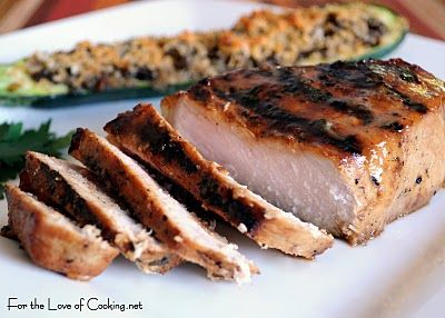 For the Love of Cooking » Honey Mustard Thick Cut Pork Chops