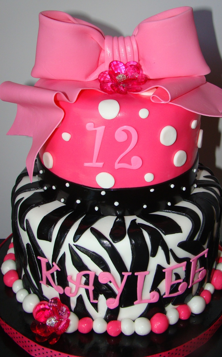 Tween Birthday Idea Cakes Desserts Pinterest
