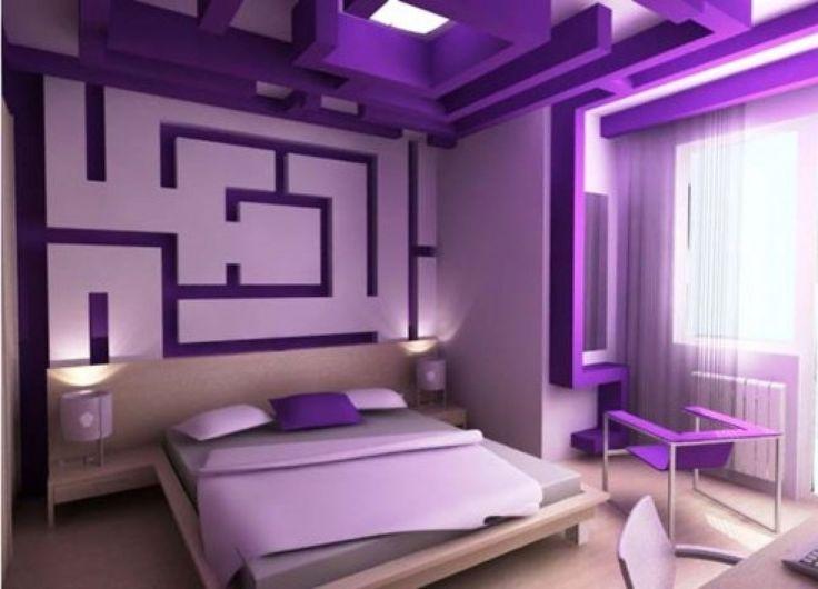 Interesting 50+ Purple Home Design Decorating Inspiration Of Best ...