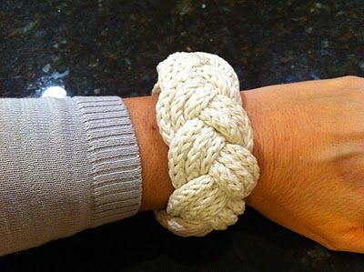 inspiration and realisation: DIY Fashion + Home: infinity sailor's knot bracelet