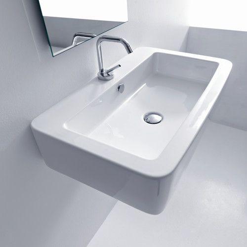 Found it at Wayfair - Kerasan Ego Wall Mounted / Vessel Bathroom Sink