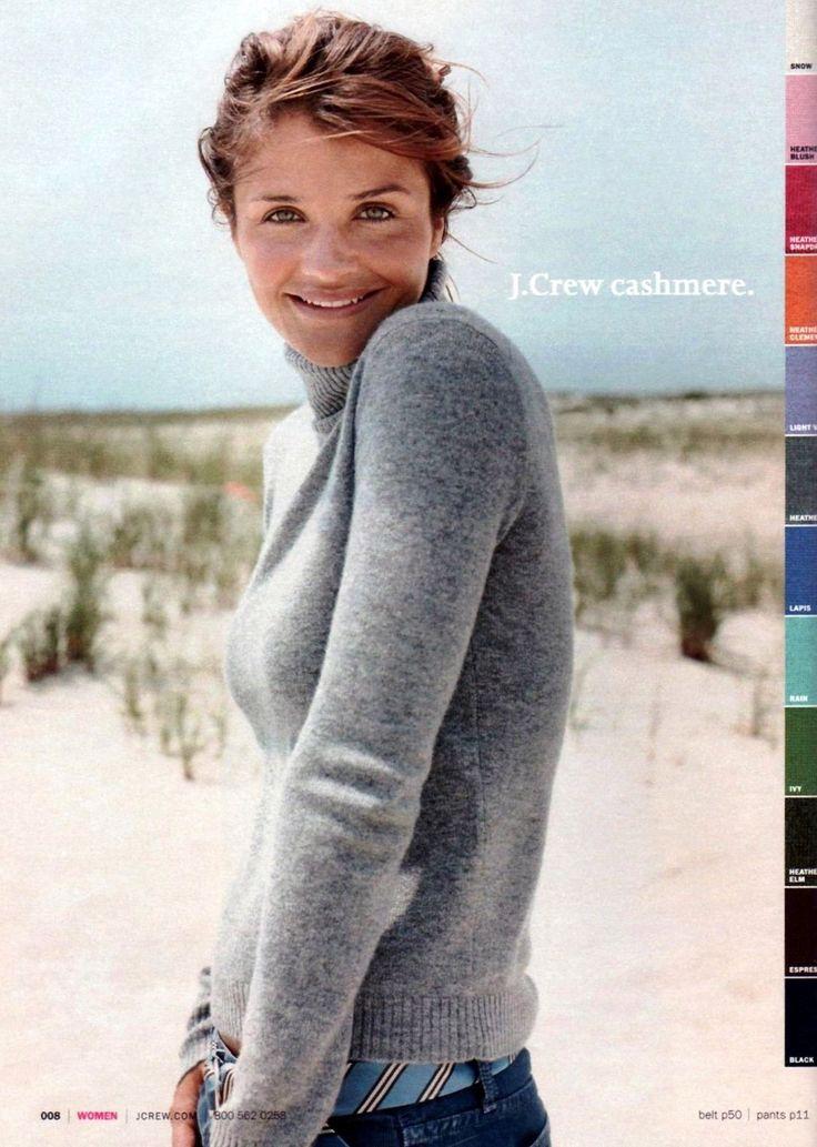 Helena Christensen for J.Crew Fall/Winter 2004