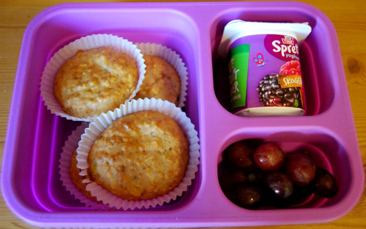 Grove matmuffins med eple og kanel - Idebank for småbarnsforeldreIdebank for småbarnsforeldre