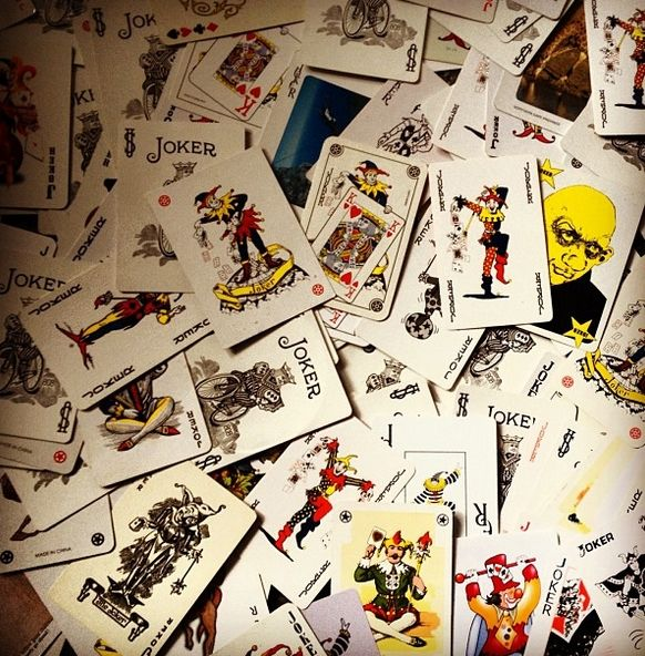 Cards labelled #Joker began appearing around the late 1860s with some depicting clowns and jesters. Typically, #JokerCards  don't have a standard appearance across the industry. Each company produces their own depictions of the card.  Picture Credit: Instagram iaingj