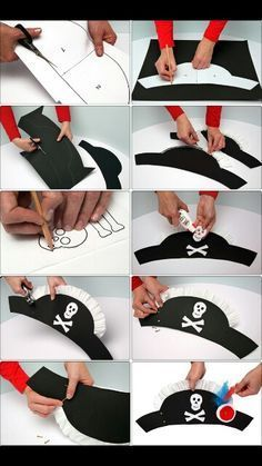 Make pirate hats