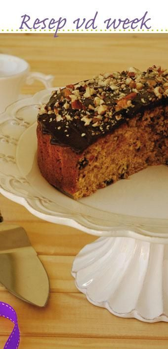 Apricot and chocolate #cake #recipe #WorldBakingDay | Appelkoos-en-sjokolade-koek