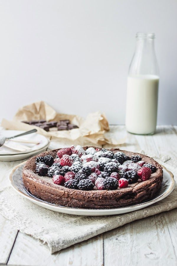 ... flourless swedish chocolate cake ...