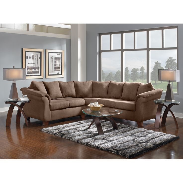 American Signature Furniture   Adrian Taupe II Upholstery 2 Pc. Sectional.  Value City FurnitureLiving Room ... Part 58