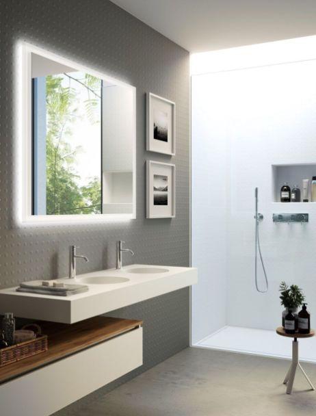 Bestes grauweißes Badezimmerdesign für Ihre neue Badezimmerinspiration 18