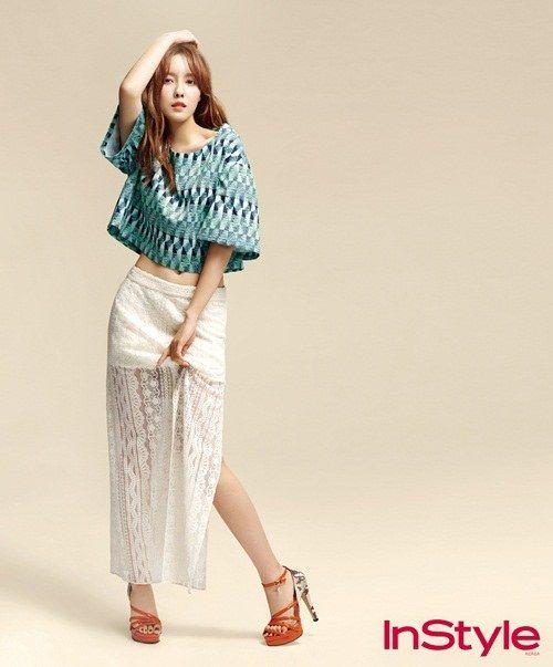 T-aras Hyomin graces InStyle magazine ~ Latest K-pop News - K-pop News   Daily K Pop News