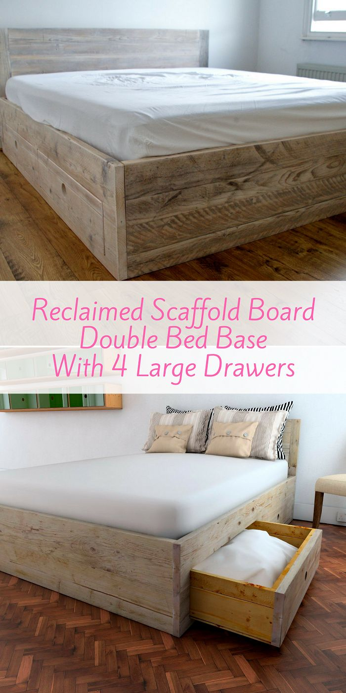 This fully slatted uniquely sprung bed base can be made to