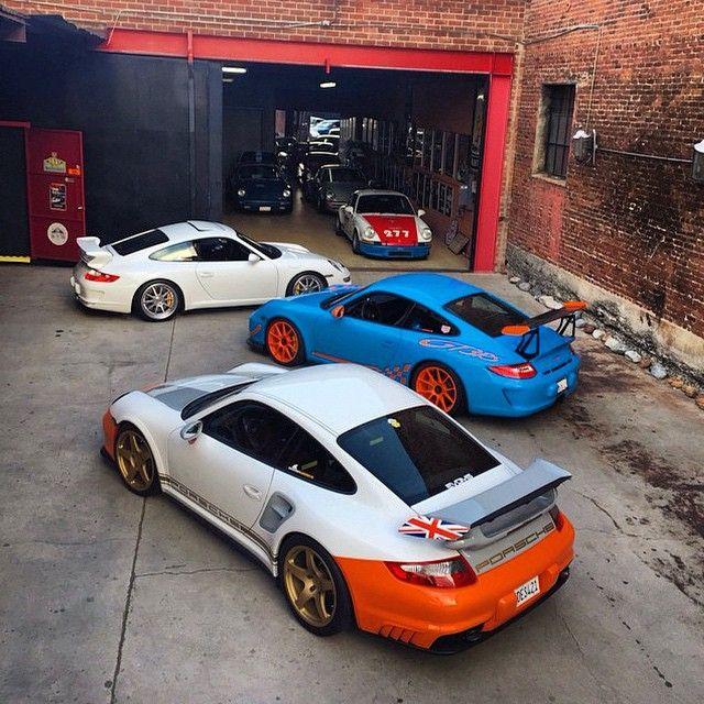 Magnus Walker garage | Hot Wheels | Pinterest | Cars, Audi ...