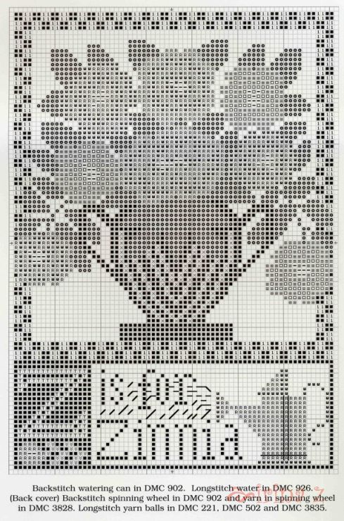 Gallery Ru Фото 3 116 Clematis Cross Stitch