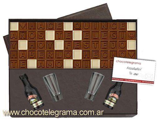 Regalos Originales Aniversario - Chocotelegrama