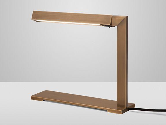 Holly Hunt Bar Desk Lamp