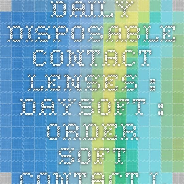 Daily Disposable Contact Lenses : Daysoft : Order Soft Contact Lenses Online  I've used these for years....Super cheap contacts