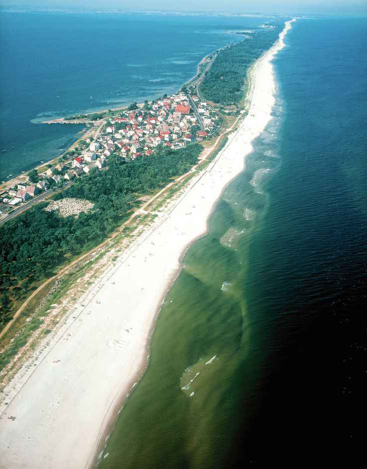 Hel Penisula, Poland - wonderful white sand beaches