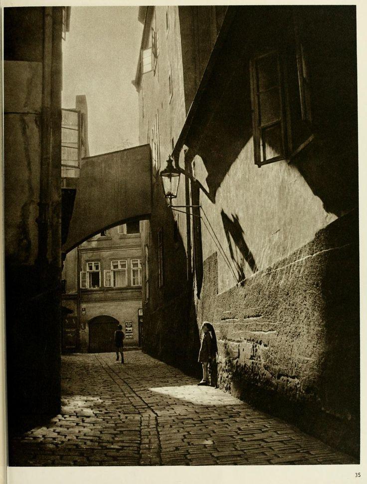 The face of Prague, Josef Sudek.