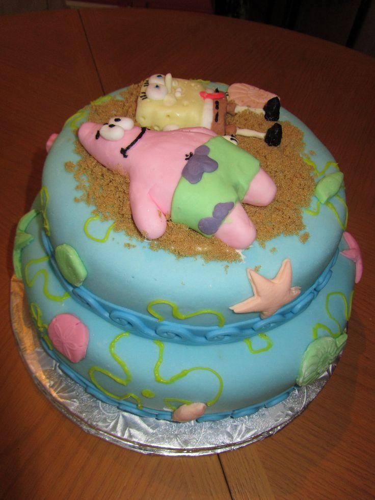 21 Best Spongebob Cakes Images On Pinterest
