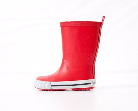 Red Tall Gumboots