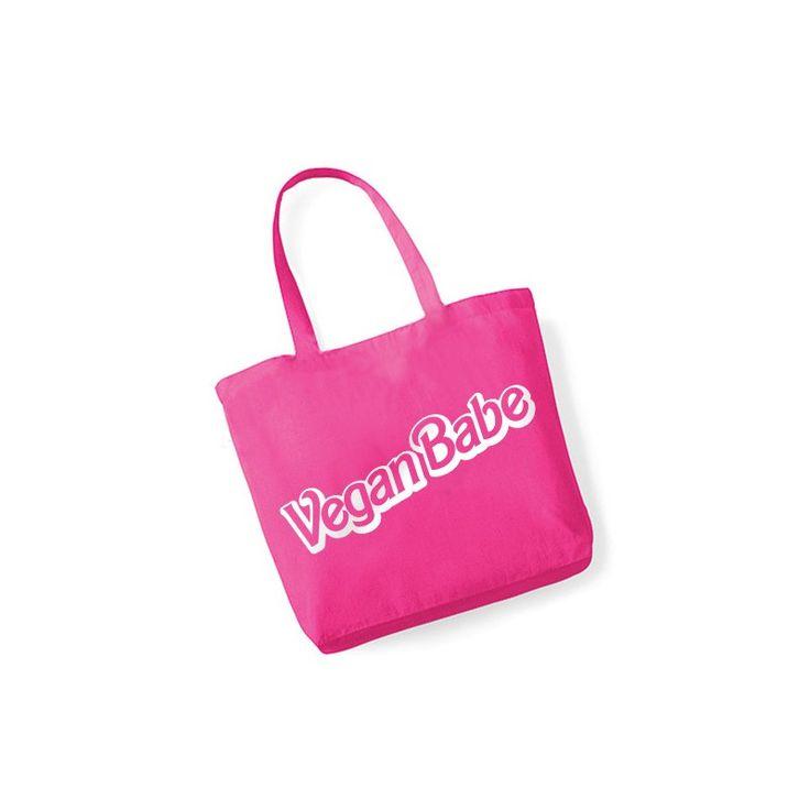 Różowa torba Vegan Babe | wegarnia.pl