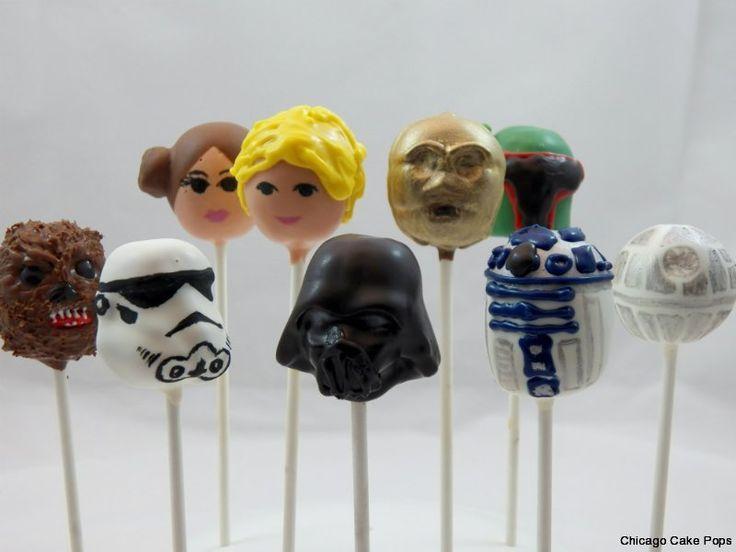 How To Make Stormtrooper Cake Pops