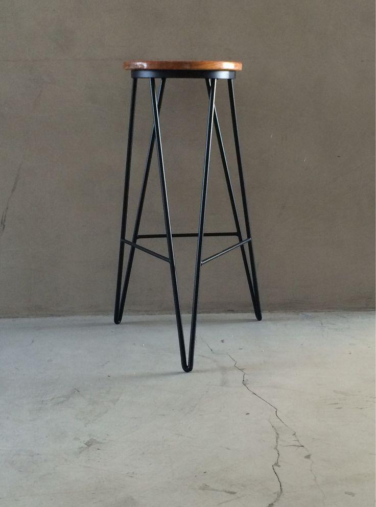 Las 25 mejores ideas sobre sillas bar en pinterest for Bar rodante de madera