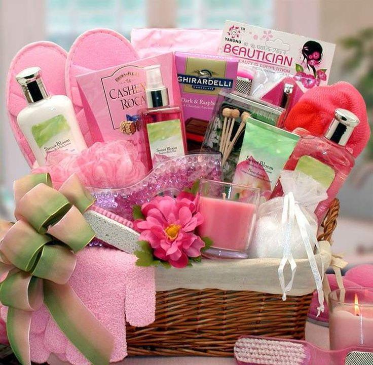 Sweet Bloom Gift Basket
