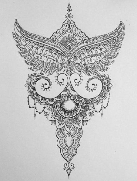 best 20 half mandala tattoo ideas on pinterest. Black Bedroom Furniture Sets. Home Design Ideas