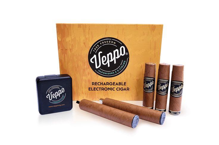The Veppo Rechargeable E-Cigar