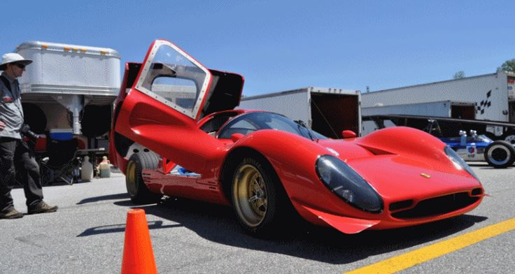 VIDEO and Photos – Bailey Ferrari P-4 Replica Running 400i V12 + Flat-6 917 Porsche Replica Too!