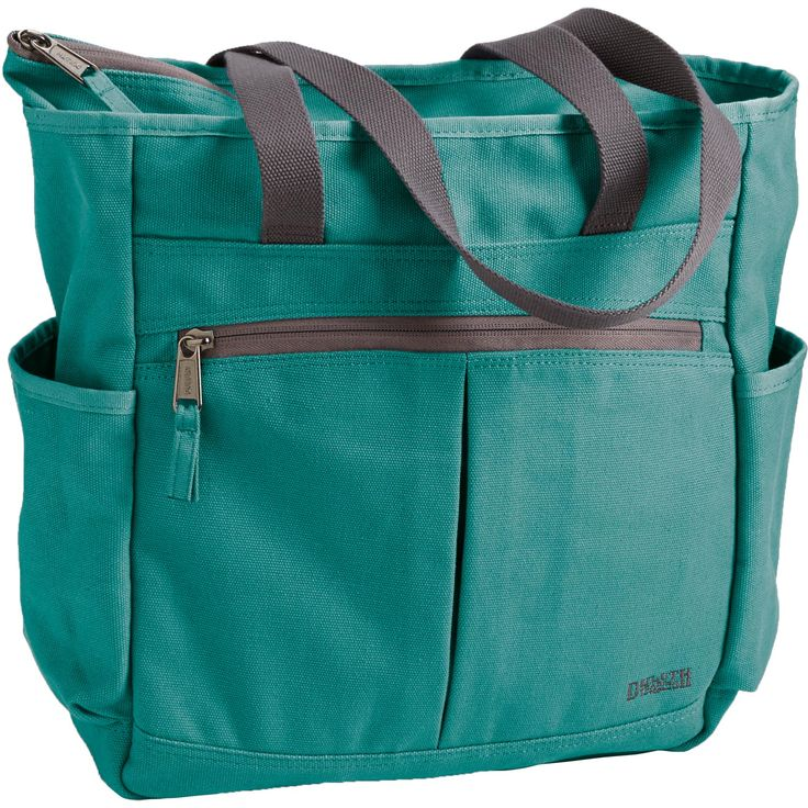 The Canvas Travel Tote from Duluth Trading has always been a best seller. Now it's even better, with sturdier canvas, 14 pocket and a laptop pocket.