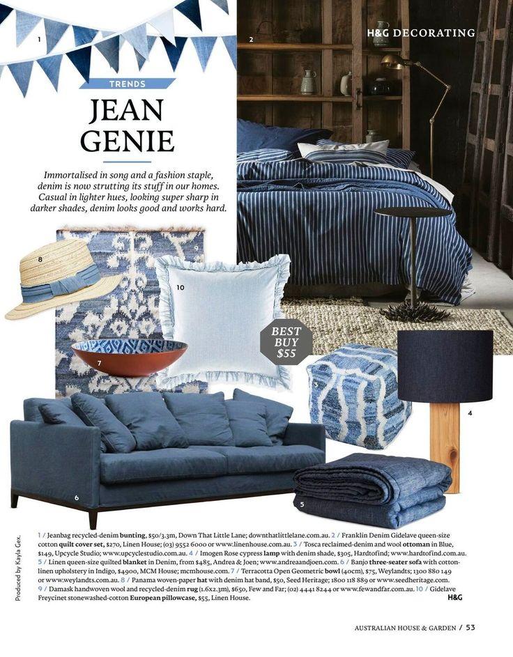 Andrea & Joen French Bed Linen in Australian House and Garden