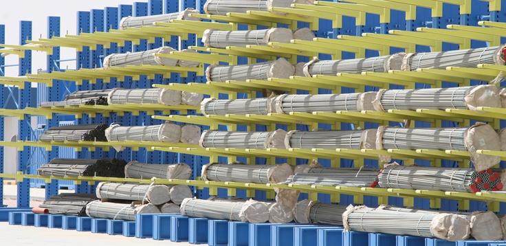 Scaffalature Cantilever: più spazio al magazzino dei prodotti lunghi