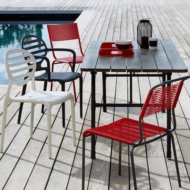 Table De Jardin Pliante Sohan - Taille : Taille Unique ...