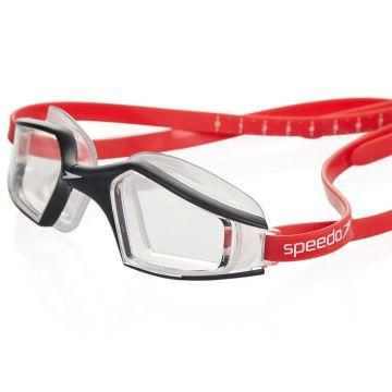Speedo Aquapulse Kadın Yüzücü Gözlüğü - Siyah/Kırmızı