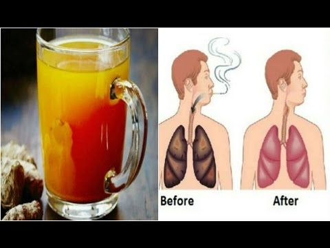For Smokers And Ex Smokers  This Drink Will Cleanse Your Lungs