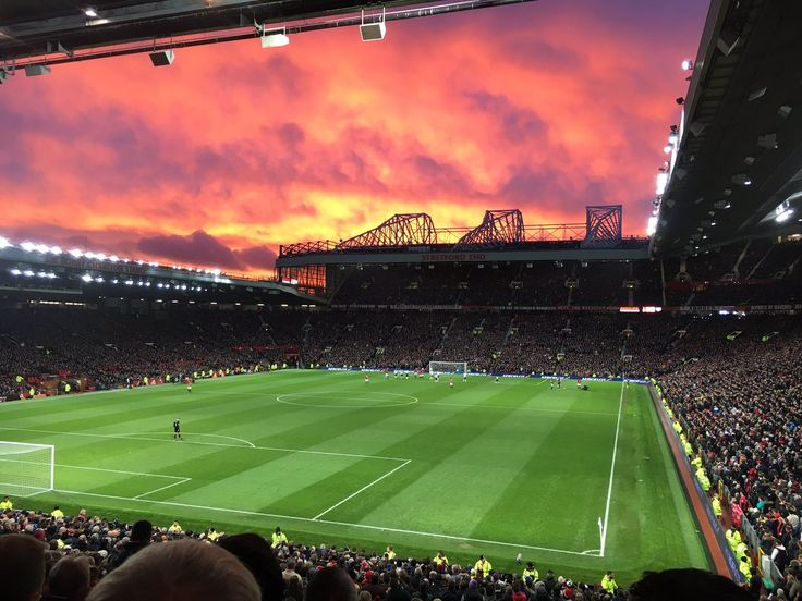Every single person who have a big heart for United, belongs to Old Trafford. We all with a heart for United belongs here. The Theatre of Dreams ❤