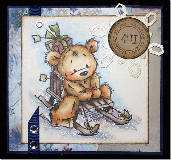 LOTV - James Bear Sledging Along