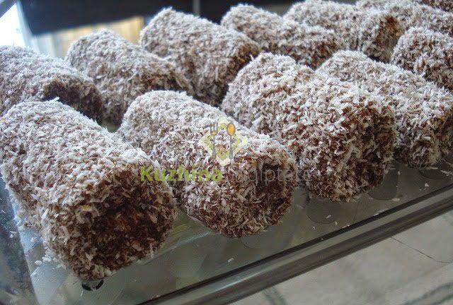 Role të vogla me kokos