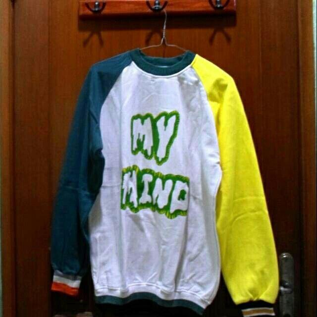 "Saya menjual [SALE!] SWEATER JINYOUNG GOT7 ""MY MIND"" seharga Rp90.000. Dapatkan produk ini hanya di Shopee! https://shopee.co.id/yumiicchi/779450911 #ShopeeID"