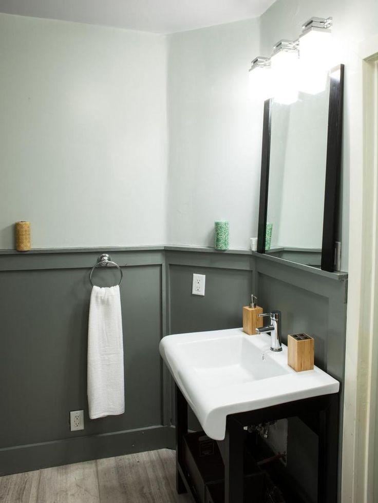 Простая и уютная ванная комната в стиле минимализм. #ванная_комната #стиль_минимализм