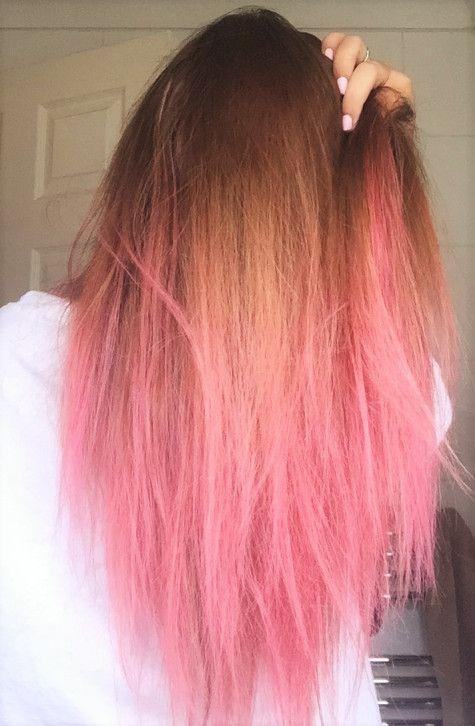 Hair : bleach london the big pink, bright hair
