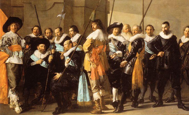 Frans Hals & Pieter Codde - The Meagre Company at Rijksmuseum Amsterdam | par mbell1975