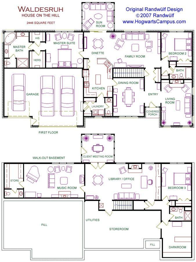 Basement Layout Design Set 23 best floor plans! images on pinterest | abandoned mansions